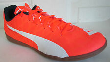 PUMA EVOSPEED 5.4 IT ORANGE INDOOR  SOCCER MEN SHOES 8