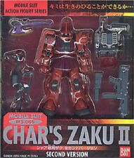 Used Bandai Extended MS In Action Gundam Char\\\\\\\'s Zaku II Painted