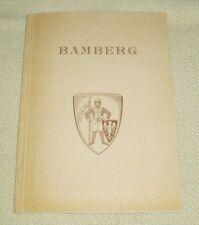 Bamberg - Eine geographische Studie der Stadt - Dr. Gudrun Höhl -- 1957