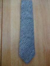 Donna Karan firma Corbata Para Hombre Gris Plata
