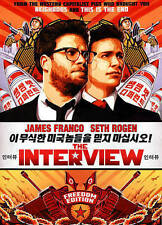 The Interview (DVD, 2015) - NEW!!