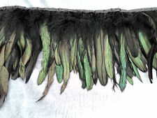 BIG SIZE FEATHER FRINGE TRIMMING, LARGE ROSTER/HEN FEATHER
