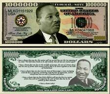 MARTIN LUTHER KING BILLET MILLION DOLLAR US ! Collection PRIX NOBEL Non Violence