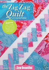 NEW! The Zig Zag Quilt Connie Palmer DVD  Beginner's or Advanced quilters