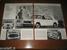 INNOCENTI MORRIS 1100=ANNO 1963=RITAGLIO=CLIPPING=POSTER=FOTO=PHOTO=
