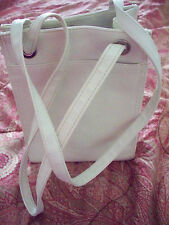 Vintage Shabbie Chic Boho Soho Hippie Chick Cute Cream Lunch Bag Tote Purse