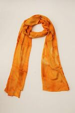 BRAND NEW HANDMADE EXTRA LONG YELLOW TIE DYE SCARF SARONG FREE POST / SCL011