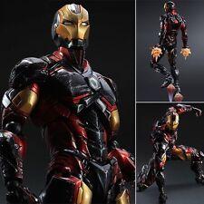 Square Enix Variant Play Arts Kai Marvel Comics Variant Iron Man Figure No Box