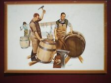POSTCARD E1-12 BARRELMAKING BY M GREENSMITH COUNTRY CRAFTS