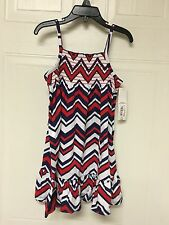 NWT!! GIRLS SIZE SMALL (4) BLUEPRINT SUNDRESS BY OKIE DOKIE