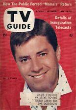 1957 TV Guide January 19-Jerry Lewis; Patti Page; Eva Wolas; Dave Garroway Today