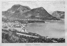 1891= LUGANO, CANTON TICINO = SVIZZERA  Xilo+Passepartout.Etna.Premoli.
