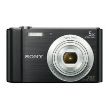 Sony DSC-W800 20.1 Megapixels Digital Camera - Black