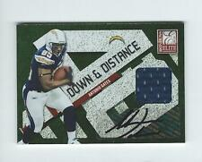 2010 Elite Down and Distance Antonio Gates AUTOGRAPH JERSEY Chargers /10