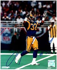 "St. Louis Rams TOBY WRIGHT Signed Autographed 8x10 ""Greatest Show on Turf"" C"
