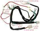 WIRING HARNESS for 50cc- 90cc,110cc, 25cc Chinese pit dirt bike Electric start