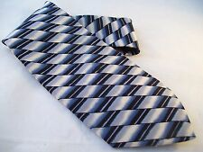 J.Blades & Co. Macy's NWT Designer Tie Men's Silk Necktie USA Monterey Bay Blue