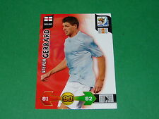 GERRARD ENGLAND  PANINI FOOTBALL FIFA WORLD CUP 2010 CARD ADRENALYN XL