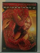 Spider-Man 2 Full Screen Special Edition Spiderman 2 Disc DVD Set