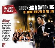 CROONERS & SWOONERS - THE FINEST SINGERS OF ALL TIME (NEW SEALED 2CD)