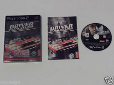 DRIVER PARALLEL LINES COLLECTORS EDITION for PLAYSTATION 2 'RARE & HARD TO FIND'
