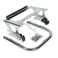 2 Up Tour Pak Mount Luggage Rack For 1997-08 Harley Touring Street Road Glide 97