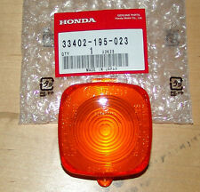 HONDA SCOOTER/MOPED BLINKER TURN SIGNAL LENS ZB50 XL80 PA50II NEW OEM