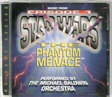 CD COMPIL BOF / OST--STAR WARS THE PHANTOM MENACE--MICHAEL BALDWIN ORCHESTRA