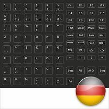 TASTATURAUFKLEBER DEUTSCH KEYSICK GERMAN BLACK SCHWARZ HP COMPAQ TOSHIBA