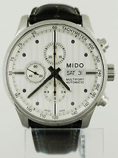 Mido Multifort Day Date Automatic Chronograph Watch M005.614.16.031.00 44mm