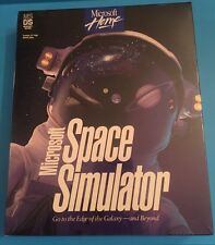 Microsoft Space Simulator (PC, 1994) Vintage Brand New Unopened Package