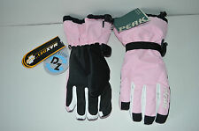 Peak Performance HIPE Winter Gloves Size 8 Snowboarding Childs adults Pink