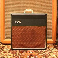 Vintage 1964 Vox AC4 Basketweave Covering 1x8 Elac Valve Amp Amplifier SERVICED