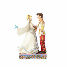 Disney Traditions Jim Shore Cinderella & Prince Royal Wedding Couple Figurine