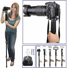 "Lightweight 67"" Pro Camera Tripod Mono-pod For All DSLR Sony Canon Nikon Fuji"