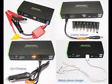 Booster Starter Avviatore Portatile Carica Batterie Moto Auto Barche Smartphone
