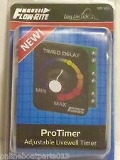 FLOW-RITE BOAT VARIABLE / ADJUSTABLE AERATOR FISH LIVEWELL PRO TIMER, MP-103