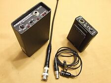 Lectrosonics M185 Transmitters and CR170 Receiver w/Mic 183.125MHz   #7