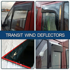 "Ford Transit MK6/MK7 Wind Deflectors (Set of 2) ""BRAND NEW"" made by Van-X"