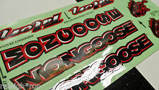 NOS MONGOOSE TALON BMX Bike Freestyle Bicycle Decal STICKER SET