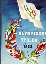 ALBUM OLYMPIC GAMES 1952 Helsinki Jeux olympique sticker Complet PLANTA panini