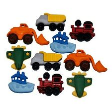 Jesse James Buttons  Dress It Up - BOYS  THINGS THAT GO ZOOM Trucks Construction