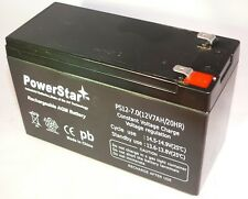 1270 Verizon FIOS Relplacement Battery 12V 7AH SLA Rechargeable F1 Terminal