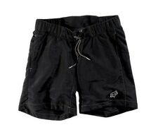 NEW WITH TAGS FOX RACING WOMEN'S PADDED MOUNTAIN BIKE BASE SHORTS SMALL BLACK S