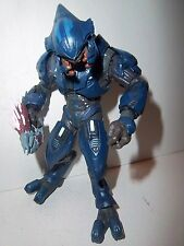 Halo Reach Series 1 **BLUE ELITE MINOR** McFarlane Figure Complete w/ Weapon