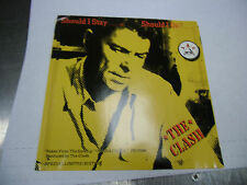 CLASH Should I Stay or Should I Go 45 RPM Epic Records EX [No Record]