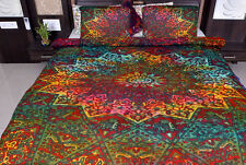 Indian Duvet Doona Cover Tie Dye Mandala Hippie Bohemian New Blanket Quilt Cover