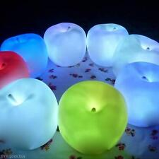 Romantic Apple Shape Color Changing LED Lamp Night Light Bedroom Bar KTV Decor