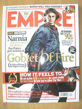 EMPIRE FILM MAGAZINE No 198 DECEMBER 2005 HARRY POTTER GOBLET OF FIRE COVER 1