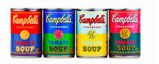 Andy Warhol Set 4 50th Anniversary 2012 Target Campbell's Soup Cans POP ART